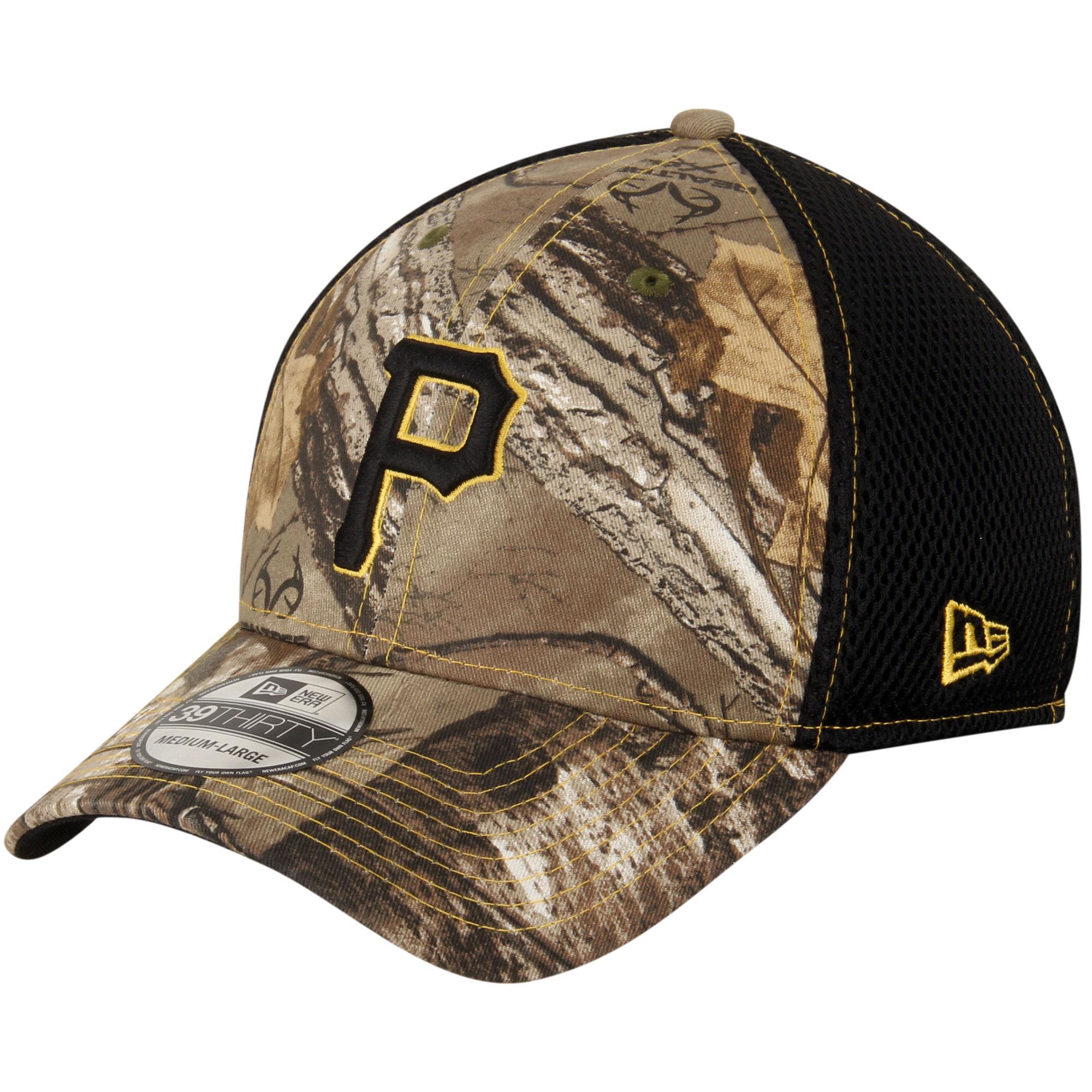Pittsburgh Pirates New Era Neo 39THIRTY Flex Hat - Realtree Camo