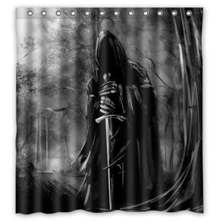 DEYOU Darth Vader Sword In Dark Creative Shower Curtain Polyester Fabric Bathroom Size 60x72