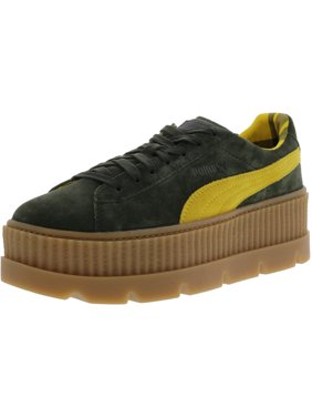 ae30a133ce14 Product Image Puma Women s Cleated Creeper Suede Rosin   Lemon Vanilla Ice  Ankle-High Fashion Sneaker -