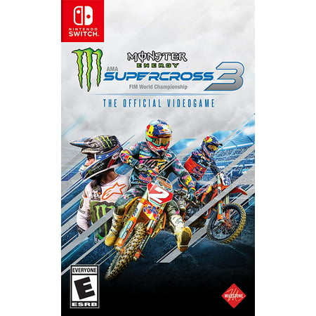 Monster Energy Supercross – The Official Videogame 3, Square Enix, Nintendo Switch, 662248923758