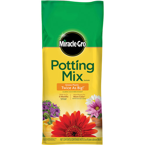 Miracle-Gro Potting Mix, 2 cu ft