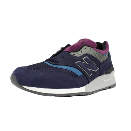 check out 63b9d b1419 New Balance - NEW BALANCE 997 SZ 8.5 MADE IN USA NORTHERN LIGHTS PACK NAVY  BLUE GREY M997PTB - Walmart.com
