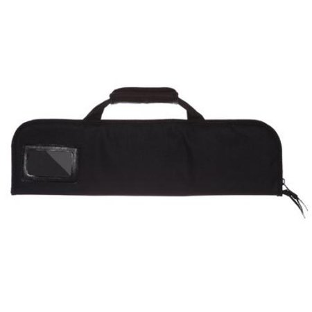 Ergo Chef 5 Pocket Chef Knife case roll bag (Roll Rubber Barrel Knife)