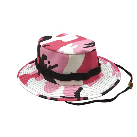 Pink Camo Jungle Hat, Available in 6 sizes](Hats In Spanish)