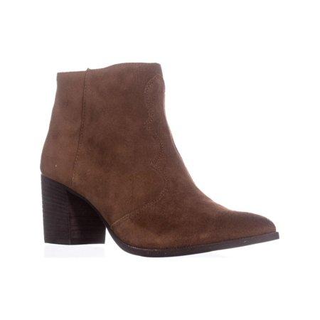 Womens Dolce Vita Lennon Pointed Toe Block Heel Boots, Acorn, 8.5 - Acorn Block