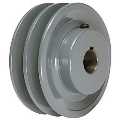 Double Groove Pulley (4.25