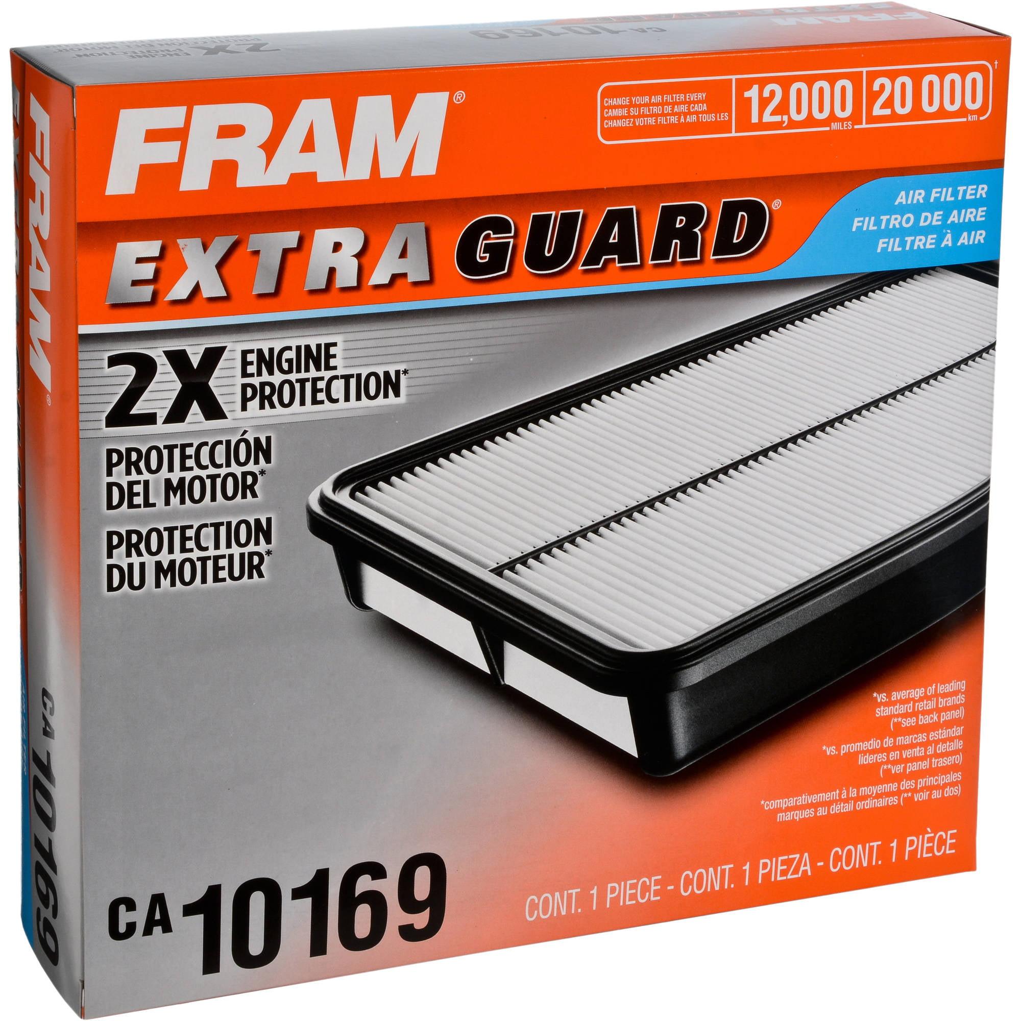 FRAM Extra Guard Air Filter, CA10169