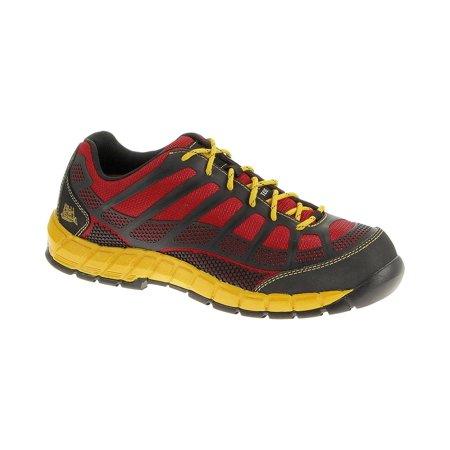 CATERPILLAR P90287 Work Boots,Composite,Men,7,M,Red,PR (Caterpillar Shoes Man)