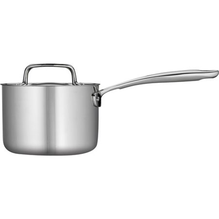 Tramontina 1.5-Qt Stainless Steel Tri-Ply Clad Sauce Pan with