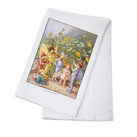 The Fairy Orchestra - (artist: C.M.B.) - Vintage Advertisement (100% Cotton Kitchen Towel)](The Vintage Fairy)