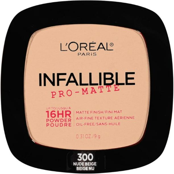 Loreal Paris Nude Beige - 300 Pressed Powder Nude Beige