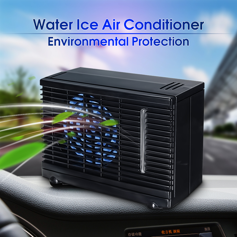 Evaporative Air Conditioner 12V Portable Universal Car&Home Cooler Cooling Fan Water Ice