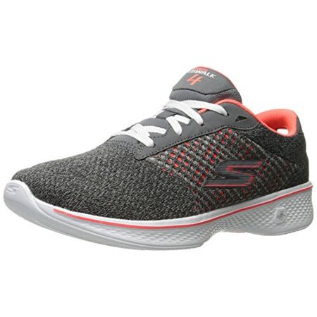 Skechers Performance Women's Go Walk 4 Exceed Lace Up Sneaker