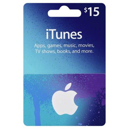 $15 iTunes Gift Card - Walmart com