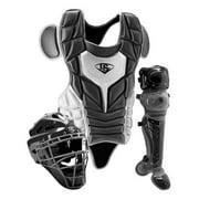 Louisville Slugger Series 5 Intermediate Black/Grey Catcher Set