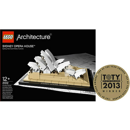 Lego Architecture Sydney Opera House Play Set Walmart