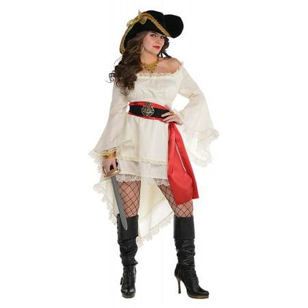 Pirate Dress Adult Costume - Standard