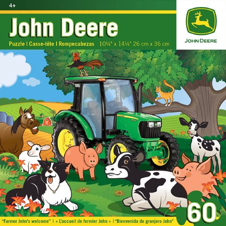 John Deere - Farmer John's Welcome - 60 Piece Jigsaw Puzzle - Masterpieces