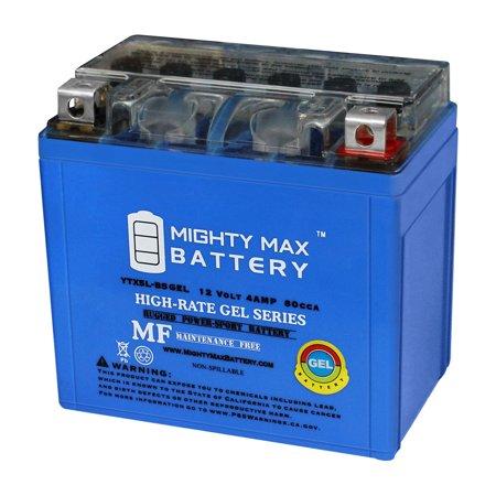 YTX5L-BS GEL Battery for Polaris 50 Predator, Outlaw 2004-2014 (Polaris Outlaw 50 Battery)