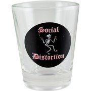 C&D Visionary Social Distortion Shot Glass