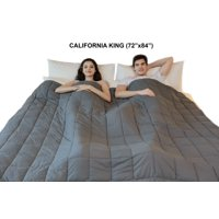 """California King Sized Weighted Blanket - Soft Weighted Throw Blanket Heavy Weighted Blanket Cuddle Sensation Blanket (72""""x84"""")"""
