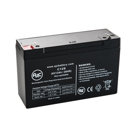 Powerware Unisys Up909 6V 12Ah Ups Battery   This Is An Ajc Brand  174  Replacement