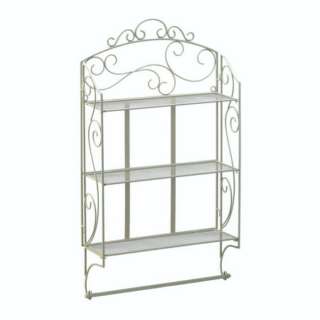 Wall Display Rack, Iron Decorative Display Wall Rack Shelf