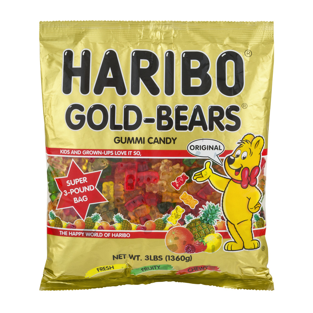 Haribo Gold-Bears Gummi Candy, 3.0 LB
