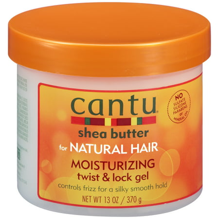 Cantu Shea Butter for Natural Hair Moisturizing Twist & Lock Gel, 13 oz (Loc Butter Hair Moisturizer)