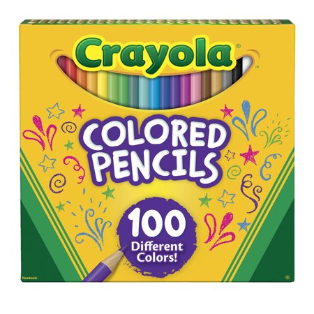 Crayola Colored Pencils, 100 - Crayola 100 Colored Pencils