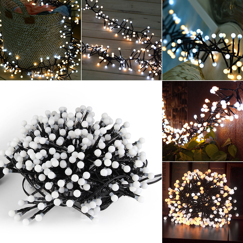 Decorative Lights, Fairy String Lights 400 LED 10 Ft for Outdoor,Indoor,Bedroom,Garden,Patio,Backyard,Christmas,Party,Wedding,Bistro,Cafe,Curtain