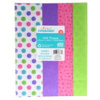 Tissue Paper 10ct Dots/stars Tissue Asst.