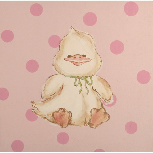 Renditions by Reesa Snuggly Duck Canvas Art