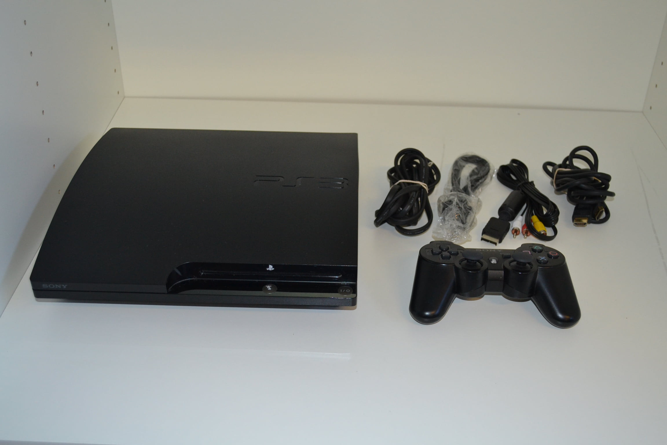 Refurbished Sony PlayStation 3 Slim 120GB Gaming Console Video Game Systems by Sony