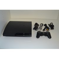 Refurbished Sony PlayStation 3 Slim 120GB Gaming Console Video Game Systems
