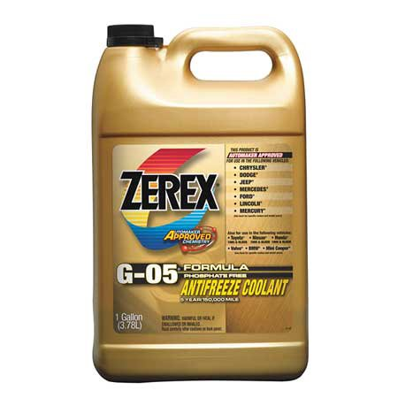 zerex antifreeze coolant 1 gal concentrated zxg051 walmart com
