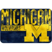 "NCAA Michigan Wolverines 20"" x 30"" ""Worn Out"" Mat, 1 Each"