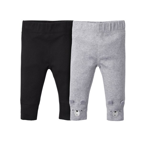 Gerber Baby Boy Active Pants, 2-Pack