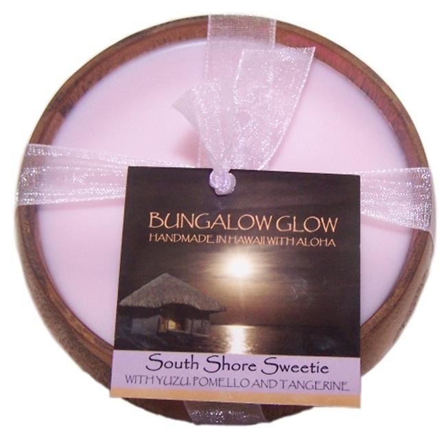 Bubble Shack Hawaii 492773500878 South Shore Sweetie Poi Bowl Candles - Pack of 2 - image 1 de 1