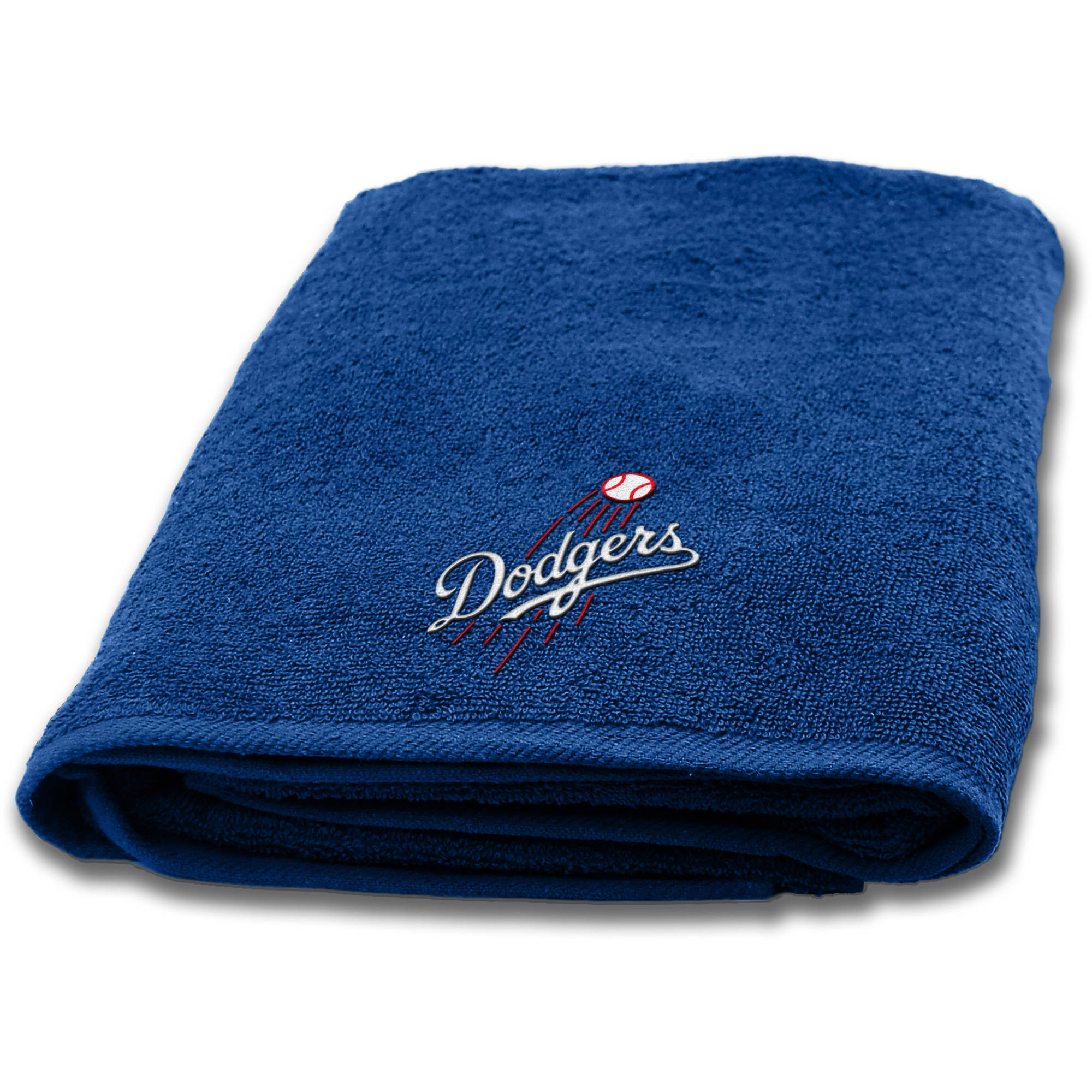 "MLB Los Angeles Dodgers 25""x50"" Applique Bath Towel"