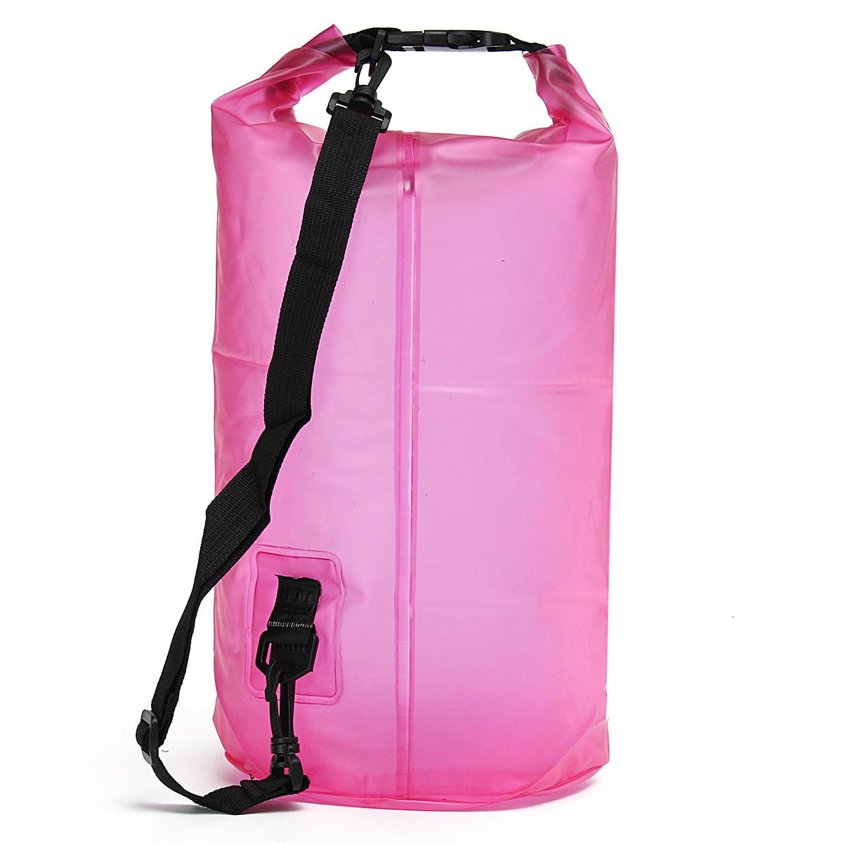 15L Waterproof Dry Bag Drifiting Rafting Canoeing Floating Kayaking Swimming Rucksacks Pouch Pack