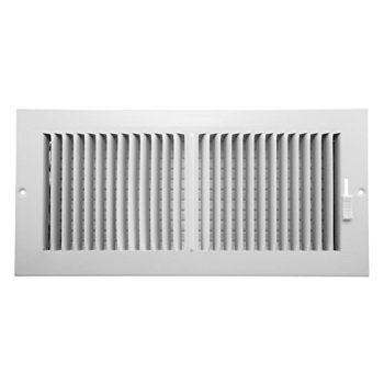 Aluminum Register (accord aaswwh2146 sidewall/ceiling register with 2-way aluminum design, 14-inch x 6-inch(duct opening measurements),)