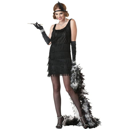 Flapper Fashion Dress Adult Halloween Costume - Diy Halloween Fashion Blog