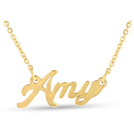 Amy Nameplate Necklace In (Any Nameplate Necklace)