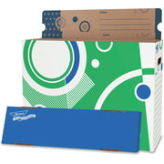 Trend, TEP7009, File 'n Save Poster Storage Box, 1 Each, Multicolor