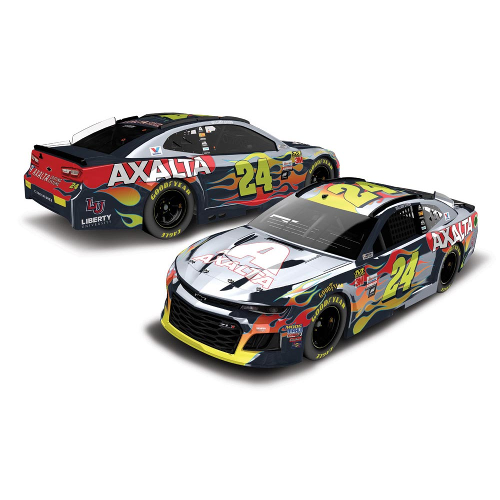 Lionel Racing William Byron #24 Axalta Coating Systems 2018 Color Chrome Chevrolet Camaro 1:24 Scale HO Die-cast