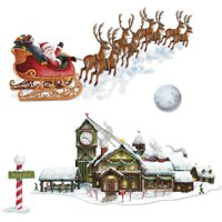 Santa Sleigh Workshop Props