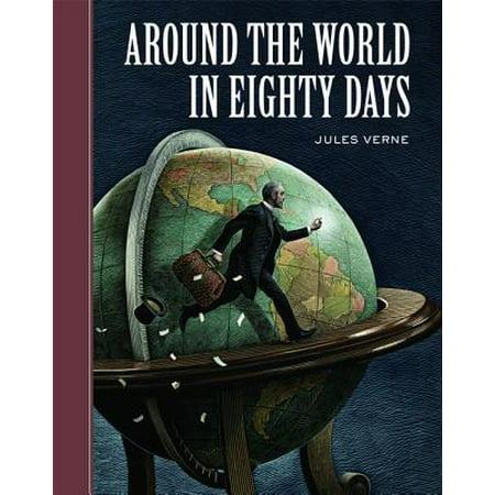 Around the World in Eighty Days - eBook