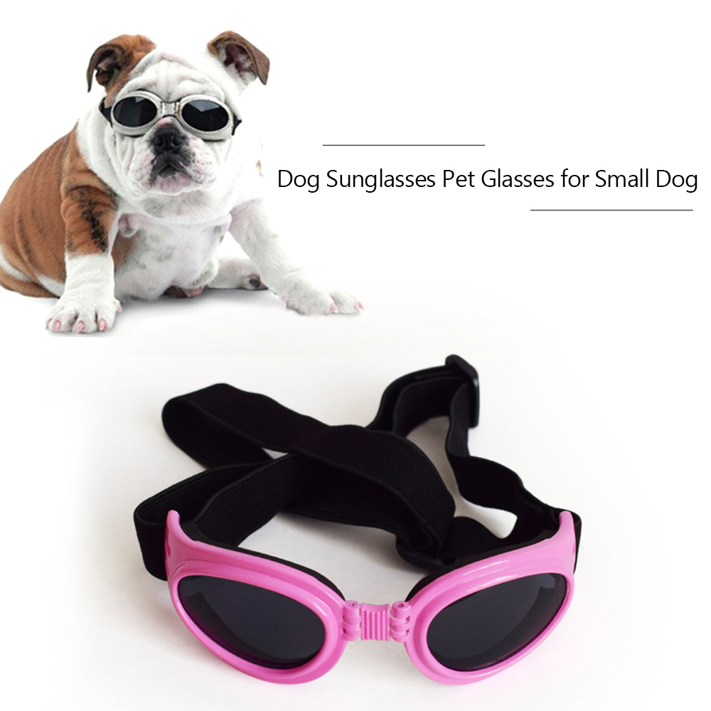 Dog Sunglasses Dog Goggles Pet Glasses Uv Protection Sunglasses Adjustable Strap For Small Dog Walmart Com Walmart Com