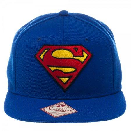 Baseball Cap - DC Comics - Superman - Logo Blue Snapback New sb1k4lspm Logo Hobbies Cap